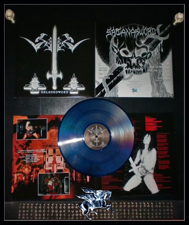 Afbeeldingsresultaat voor Sabbat - Satanasword LP blue