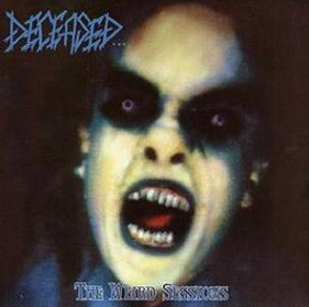 "DECEASED / CRUCIFIED MORTALS ""The Weird Sessions / Figure In Black"""