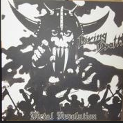 "LIVING DEATH ""Metal Revolution"" PicDisc"