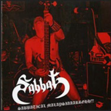 "SABBAT"" Live in Malaysia"" CD"