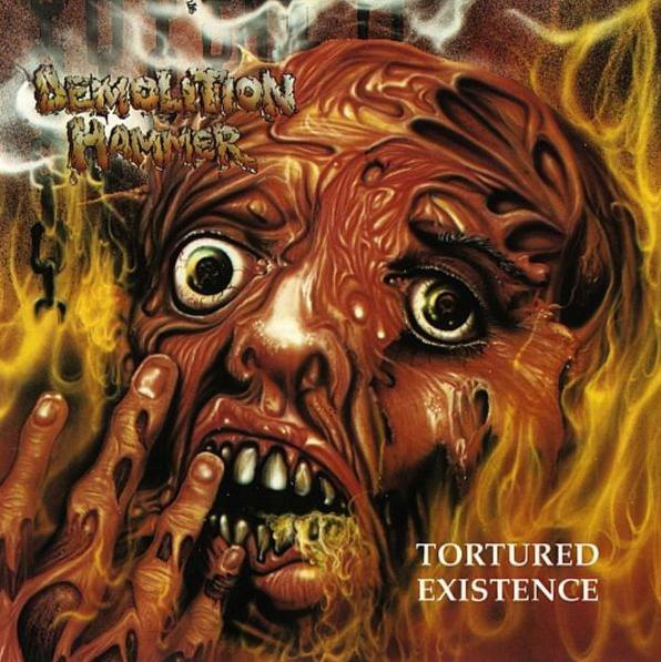 """DEMOLITION HAMMER """"Tortured Existence"""" CD"""