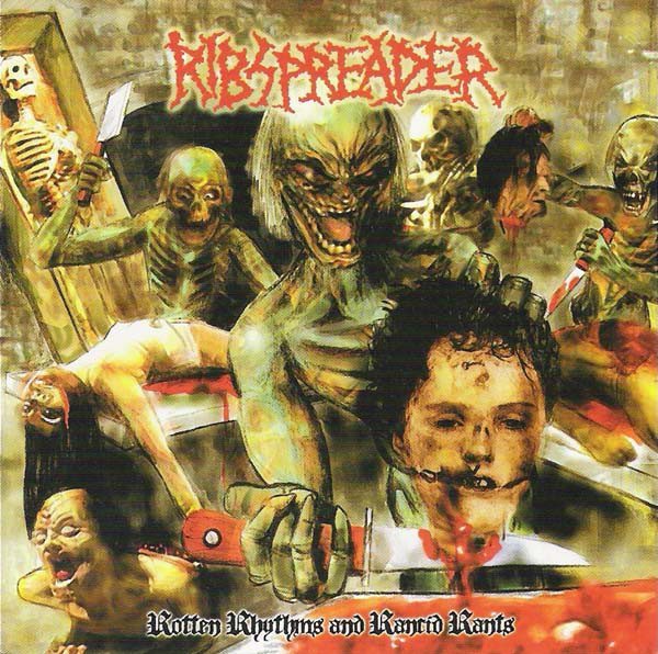 "RIBSPREADER ""Rotten Rhythmns and Rancid Rants"""