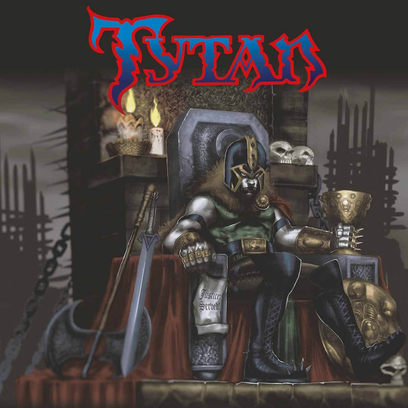 Tytan Justice Served Lp Iron Pegasus Records