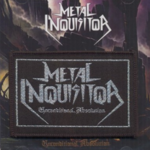 "METAL INQUISITOR ""Unconditional Absolution"" CD + PATCH"