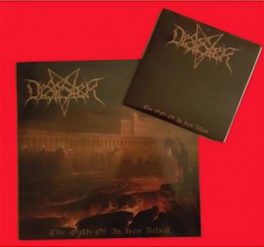 "DESASTER ""The Oath Of An Iron Ritual"" LP + Bonus Ep"
