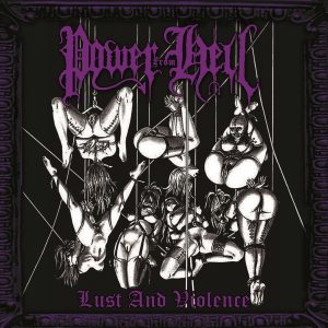 "POWER FROM HELL ""Lust and Violence"" LP"