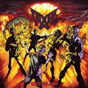 """TOXIK """"Wasteland"""" CD"""
