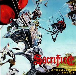 "SACRIFICE ""Apocalypse Inside"" DIGI CD"