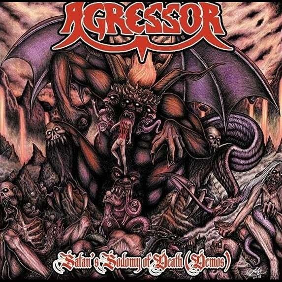 """AGRESSOR """"Satan's Sodomy of Death (demos)"""""""