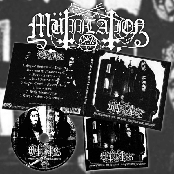 "MUTIILATION ""Vampires of Black Imperial Blood"" Digi CD"