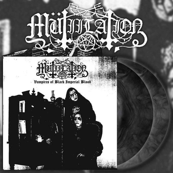 """MUTIILATION """"Vampires of Black Imperial Blood"""" LP"""