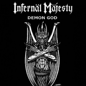"INFERNAL MAJESTY ""Demon God"" CD"
