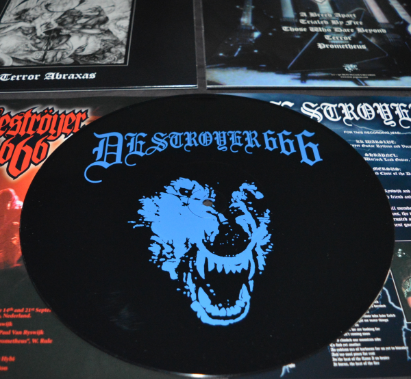 D666-Black-blue-Vinyl