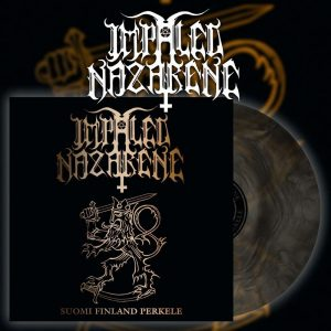 "IMPALED NAZARENE ""Suomi Finland Perkele"" Gatefold LP (galaxy colour)"