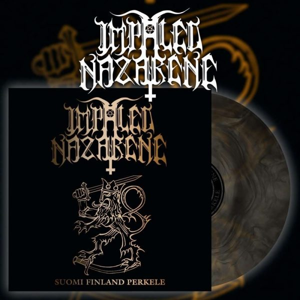 "IMPALED NAZARENE ""Suomi Finland Perkele"" Gatefold LP (galaxy colour)"