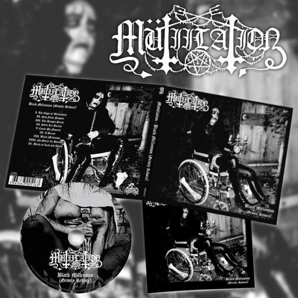 "MUTIILATION ""Black Millenium (Grimly Reborn)"" CD"