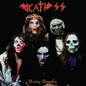 "DEATH SS ""Heavy Demons / The Cursed Concert"""