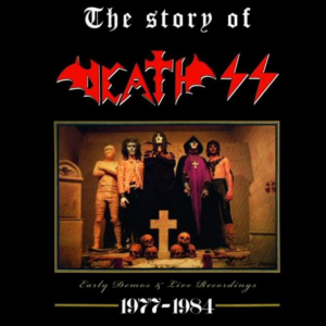 "DEATH SS ""The Story Of Death SS / Horned God Of The Witches"""