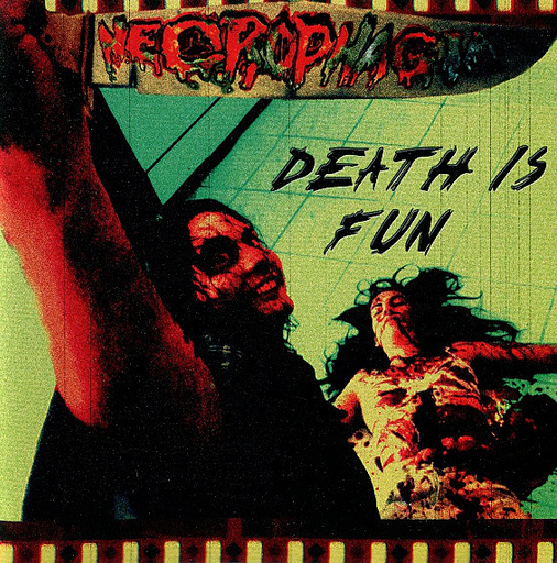 "NECROPHAGIA ""Death is Fun"" US CD"