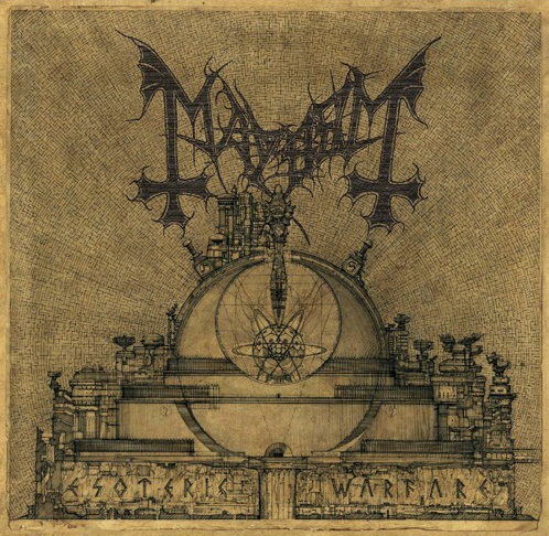 "MAYHEM ""Esoteric Warfare"" Digi CD"