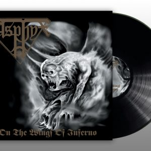 """ASPHYX """"On the Wings of Inferno"""" Gatefold LP"""