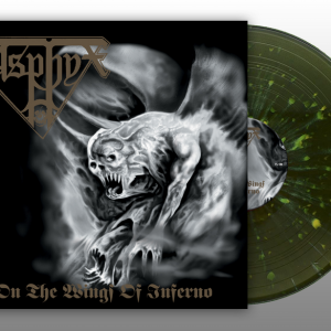 "ASPHYX ""On the Wings of Inferno"" Gatefold LP (SPLATTER)"