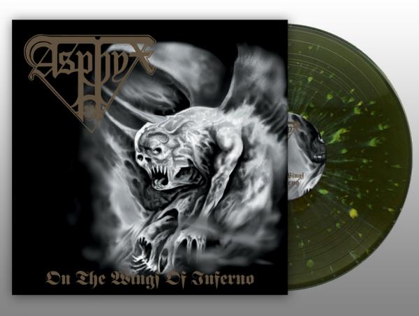 "ASPHYX ""On the Wings of Inferno"" Gatefold LP (SPLATTER)"