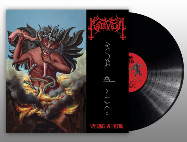 """KATAVASIA """"Magnus Venator"""" Gatefold LP"""