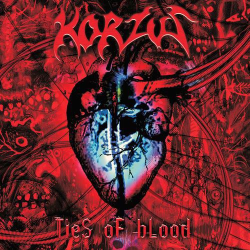 """KORZUS """"Ties of Blood"""" CD"""