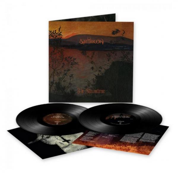 "SATYRICON ""The Shadowthrone"" DOUBLE LP"